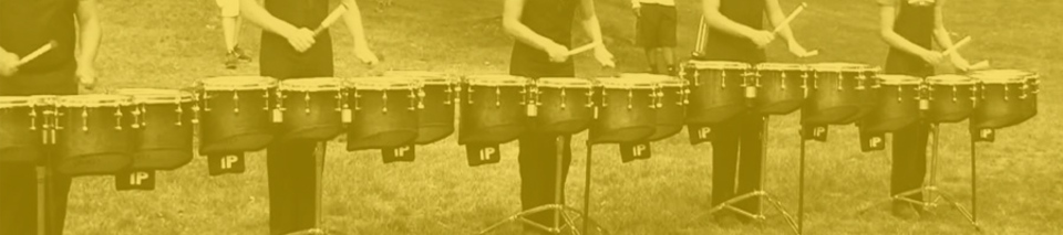 Dc header tenor drum playing zones